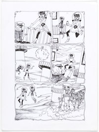 Dame Darcy Tomorrow Stories #10 Story Pages 2-6 Original Art (America's Best Comics, 2001).... (Total: 5 Original Art)