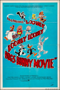 """The Looney Looney Looney Bugs Bunny Movie (Warner Brothers, 1981). Folded, Fine/Very Fine. One Sheet (27"""" X 41""""..."""