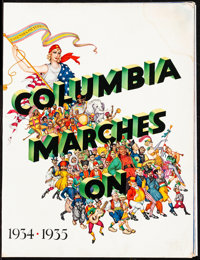 """Columbia Exhibitor Book (Columbia, 1934). Very Good/Fine. Exhibitor Campaign Book (Multiple Pages, 11"""" X 14"""")..."""