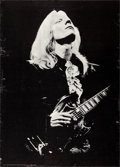 Movie Posters:Rock and Roll, Johnny Winter by Mike Barich (Pandora Productions, 1969). ...
