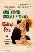 Movie Posters:Comedy, Ball of Fire (RKO, 1941). Very Fine- on Linen. One...