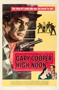 "Movie Posters:Western, High Noon (United Artists, 1952). Very Fine on Linen. One Sheet (27"" X 41"").. ..."