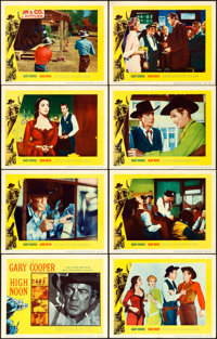 """High Noon (United Artists, 1952). Fine/Very Fine. Lobby Card Set of 8 (11"""" X 14""""). ... (Total: 8 Items)"""