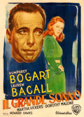 "Movie Posters:Film Noir, The Big Sleep (Warner Bros., 1947). Fine+ on Linen. Italian 4 - Fogli (55.25"" X 76.5"") Luigi Martinati Artwork.. ..."