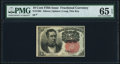 Fractional Currency:Fifth Issue, Fr. 1265 10¢ Fifth Issue PMG Gem Uncirculated 65 EPQ.. ...