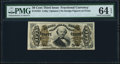 Fractional Currency:Third Issue, Fr. 1324 50¢ Third Issue Spinner PMG Choice Uncirculated 64 EPQ.. ...