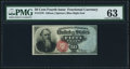 Fractional Currency:Fourth Issue, Fr. 1376 50¢ Fourth Issue Stanton PMG Choice Uncirculated 63.. ...