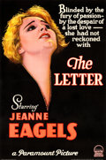 Movie Posters:Drama, The Letter (Paramount, 1929). Fine/Very Fine on Linen....