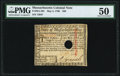 Colonial Notes:Massachusetts, Massachusetts May 5, 1780 $20 PMG About Uncirculated 50.. ...