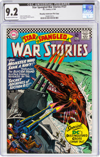 Star Spangled War Stories #127 Murphy Anderson File Copy (DC, 1966) CGC NM- 9.2 Off-white to white pages
