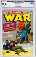 Silver Age (1956-1969):War, Star Spangled War Stories #135 Murphy Anderson File Copy (DC, 1967) CGC NM 9.4 Off-white to white pages....