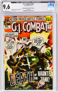 G.I. Combat #150 Murphy Anderson File Copy (DC, 1971) CGC NM+ 9.6 White pages