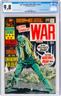 Star Spangled War Stories #154 (DC, 1971) CGC NM/MT 9.8 White pages