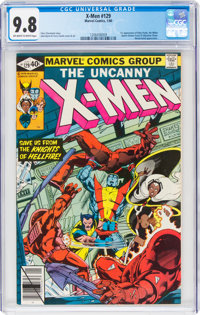 X-Men #129 (Marvel, 1980) CGC NM/MT 9.8 Off-white to white pages