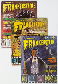 Castle of Frankenstein Group of 12 (Gothic Castle Printing, 1964-74) Condition: Average FN.... (Total: 12 Comic Books)