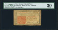 Colonial Notes:New Jersey, New Jersey March 25, 1776 3s PMG Very Fine 30.. ...