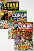 Bronze Age (1970-1979):Adventure, Conan the Barbarian Group of 52 (Marvel, 1976-80) Condition: Average NM-.... (Total: 52 Comic Books)