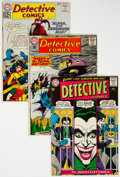Silver Age (1956-1969):Superhero, Detective Comics Group of 18 (DC, 1961-68) Condition: Average GD/VG.... (Total: 18 Comic Books)