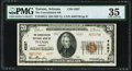 Tucson, AZ - $20 1929 Ty. 2 The Consolidated National Bank Ch. # 4287 PMG Choice Very Fine 35.<