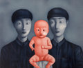 Prints & Multiples:Contemporary, Zhang Xiaogang (Chinese, b. 1958) Comrades w...