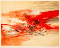 Prints & Multiples:Contemporary, Zao Wou-Ki (1921-2013). Untitled, 1969. Etching with aquatint in colors on wove paper. 15-1/2 x 20-1/4 inches (39.4 x 51...