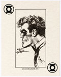 Original Comic Art:Sketches, Neal Adams - Green Lantern SDCC Speciality Illustration Original Art (2017)...