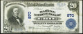 National Bank Notes:Pennsylvania, Erie, PA - $20 1902 Plain Back Fr. 650 The Marine National Bank Ch. # 870 Very Fine+.. ...