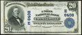 Connellsville, PA - $20 1902 Plain Back Fr. 652 The Union National Bank Ch. # 6408 Very Fine-Extremely Fine