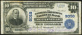 Bentleyville, PA - $10 1902 Plain Back Fr. 626 The Farmers & Miners National Bank Ch. # 9058 Fine