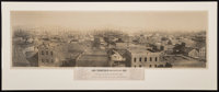 Martin Behrman (American, Active Early 20th Century) San Francisco Water Front Prior to April 1851, 1851 Panoramic gel...