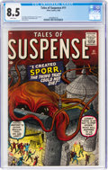 Silver Age (1956-1969):Superhero, Tales of Suspense #11 (Marvel, 1960) CGC VF+ 8.5 White pag...