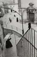 Photographs:Gelatin Silver, Henri Cartier-Bresson (French, 1908-2004). Scanno, L'Aquila, Abruzzo, Italy, 1951. Gelatin silver, printed later. 10 x 6...