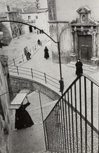 Henri Cartier-Bresson (French, 1908-2004) Scanno, L'Aquila, Abruzzo, Italy, 1951 Gelatin silver, printed later 10 x 6