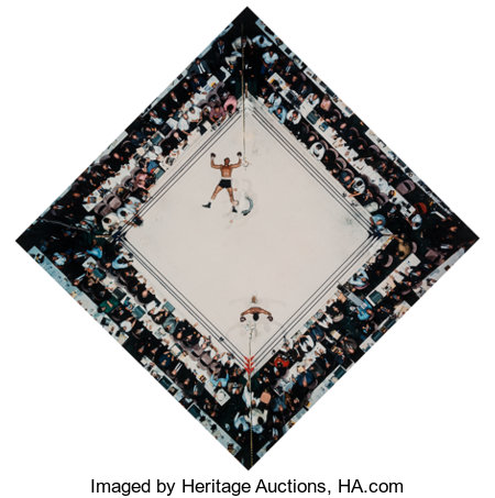 Neil Leifer (American, b. 1942) Ali Vs. Cleveland Williams, Houston Astrodome, 1966 Dye coupler, printed later 19-1/4...