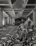 Photographs:Gelatin Silver, Arnold Newman (American, 1918-2006). Haile Selassie I, Emperor of Ethiopia, Addis Ababa, 1958. Gelatin silver, printed l...