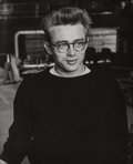 Photographs:Gelatin Silver, Phil Stern (American, 1919-2014). Two Portraits of James Dean (2 works), 1955. Gelatin silver. 7-7/8 x 10 inches (20.0 x... (Total: 2 )
