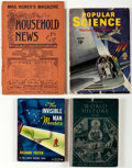 Books:General, Assorted Books and Magazines Group of 11 (Various, 1894-1991) Condition: Average VG.... (Total: 11 Items)