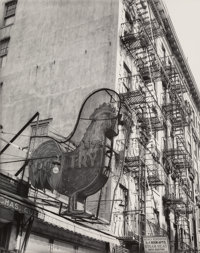 Berenice Abbott (American, 1898-1991) Rooster (Poultry Shop), 1930 Gelatin silver, printed later 19-1/8 x 15-1/4 inch