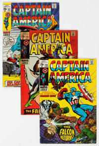 Captain America Group of 16 (Marvel, 1968-71) Condition: Average VG/FN.... (Total: 16 )