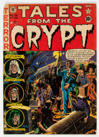 Tales From the Crypt #26 (EC, 1951) Condition: GD/VG
