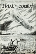 Original Comic Art:Panel Pages, George Evans Our Fighting Forces #149 Story Page 1 Original Art (DC, 1974)....