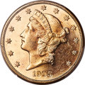 1905-S $20 MS64 Prooflike PCGS. CAC....(PCGS# 89048)