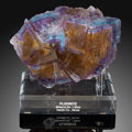 Minerals:Cabinet Specimens, Fluorite. Minerva No. 1 Mine (Ozark-Mahoning No. 1 Mine). Ozark-Mahoning group, Cave-in-Rock. Cave-in-Rock Sub-Dis... (Total: 2 Items)