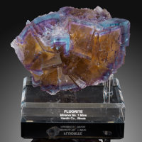 Fluorite Minerva No. 1 Mine (Ozark-Mahoning No. 1 Mine) Ozark-Mahoning group, Cave-in-Rock