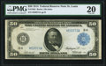 Large Size:Federal Reserve Notes, Fr. 1052 $50 1914 Federal Reserve Note PMG Very Fine 20.. ...