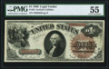 Fr. 28 $1 1880 Legal Tender PMG About Uncirculated 55
