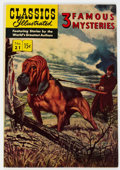 Golden Age (1938-1955):Classics Illustrated, Classics Illustrated #21 3 Famous Mysteries HRN 114 (Gilberton, 1953) Condition: VF....