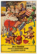 Silver Age (1956-1969):Classics Illustrated, Classics Giveaways: A Christmas Adventure - Stacey's Department Store Edition (Gilberton, 1969) Condition: NM....