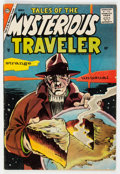 Silver Age (1956-1969):Horror, Tales of the Mysterious Traveler #7 (Charlton, 1958) Condition: VG....