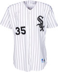 Autographs:Bats, 1997 Frank Thomas Game Worn & Signed Chicago White Sox Jersey--Batting Championship Season!...